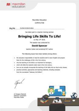 life skills koshovska