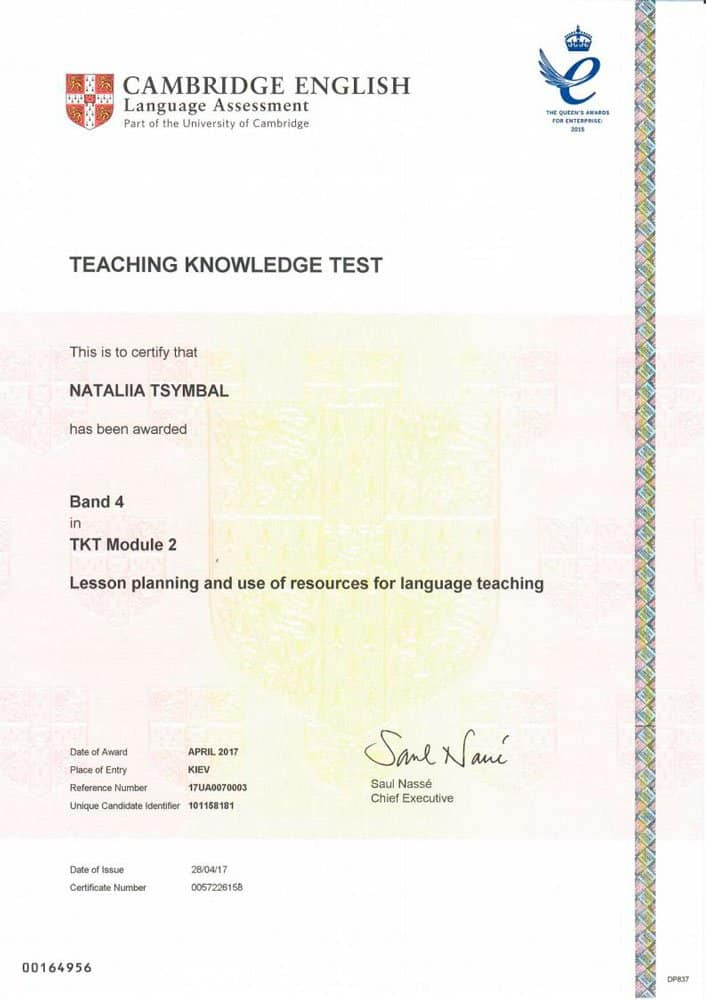 Teaching Knowledge Test (TKT) Module 2