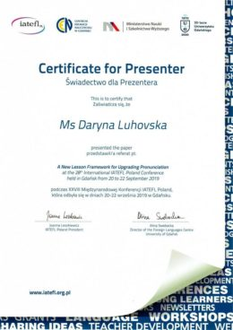 luhovska a new lesson framework for upgrading pronunciation