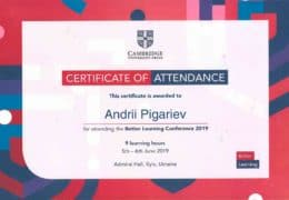 pigarev better learning conference 2019