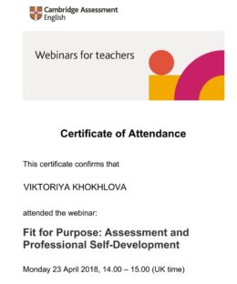 fit for purpose khokhlova
