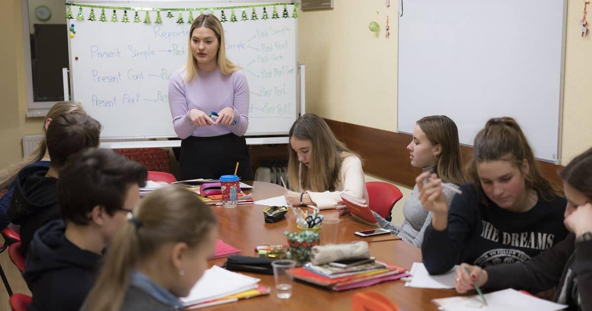 Свежий набор на курсы английского для подростков
