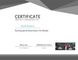 borysova teaching tips for smart junior 2 for Ukraine