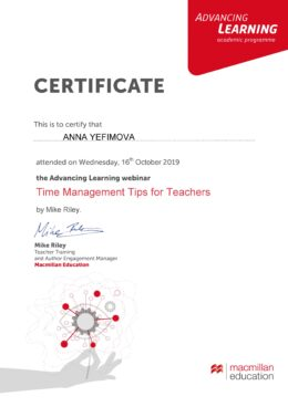 Certificate_Time Management Tips october 18
