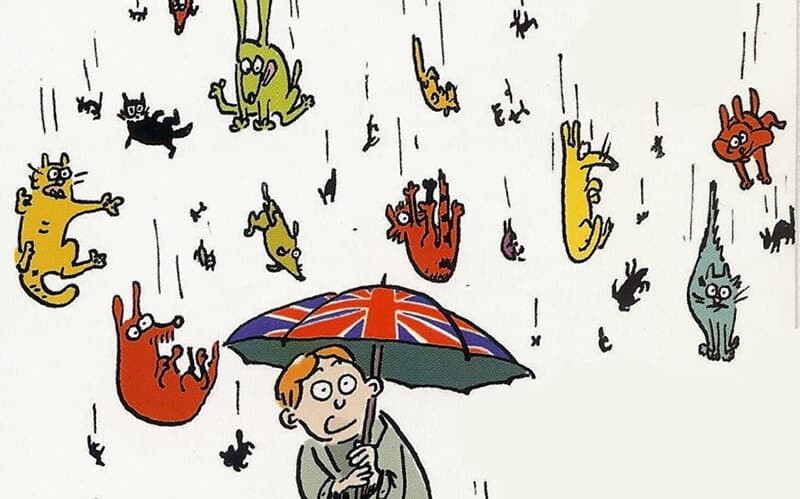 20 английских идиом про погоду