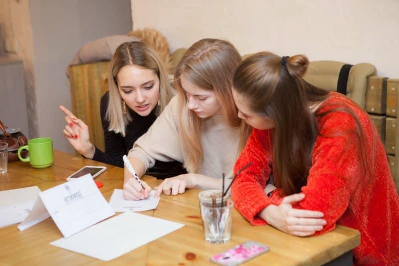 Студенты Cambridge