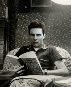 celebrities reading books