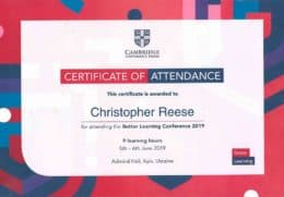reese better learning conference 2019