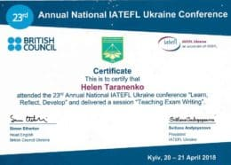 taranenko iatefl learn reflect develop