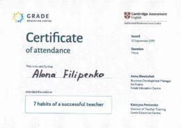 filipenko 7 habits of a successful teacher