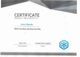 filipenko ielts the what the how the why