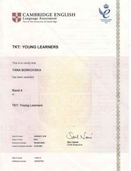 biletska borkovska tkt young learners