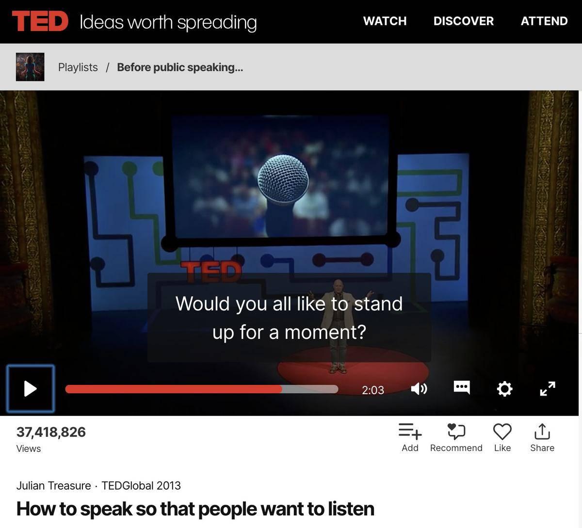 pronunciation ted