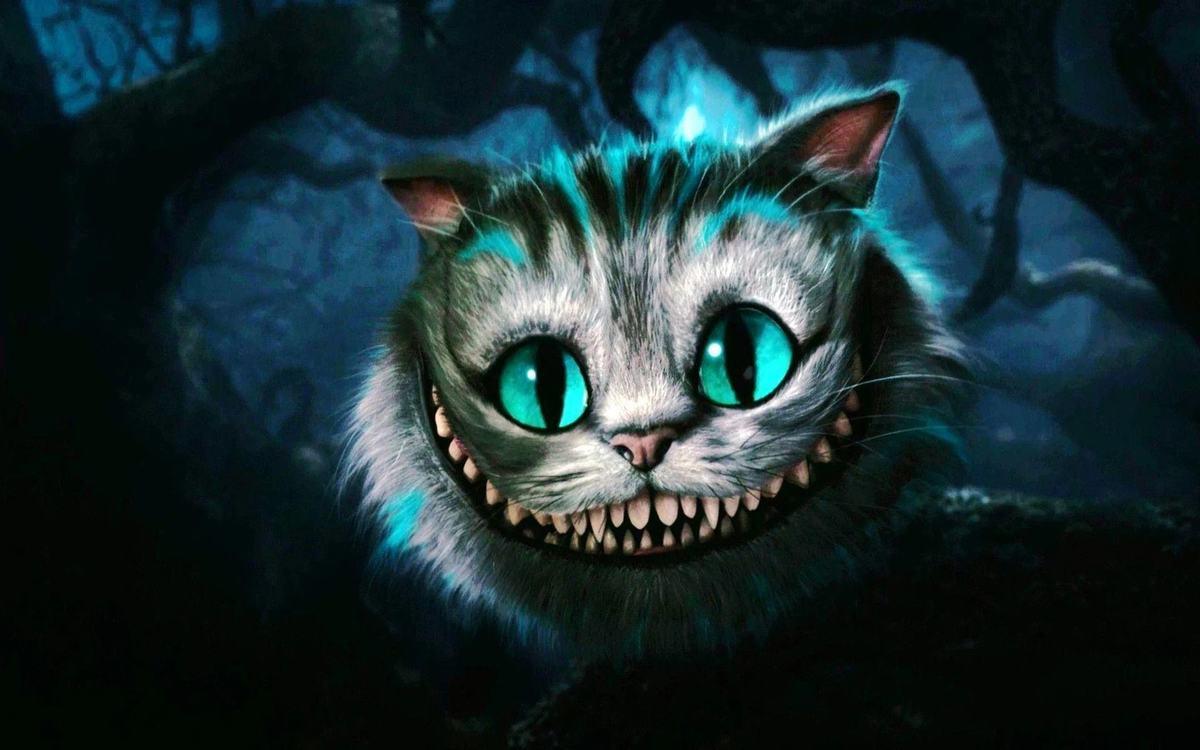 cat idioms cheshire cat grin