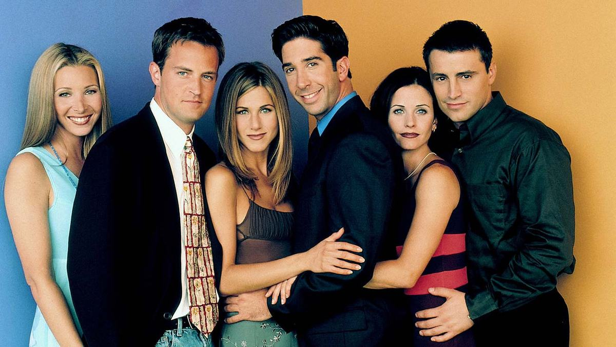 how to watch friends for learning english