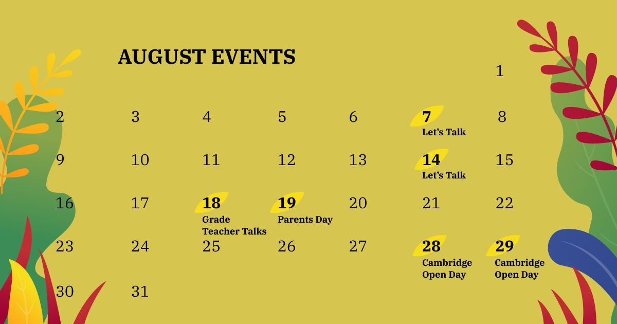 Насыщенный событиями август множество возможностей в мире изучения английского